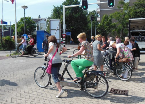 Culinaire tandemtocht met GPS in Leiden