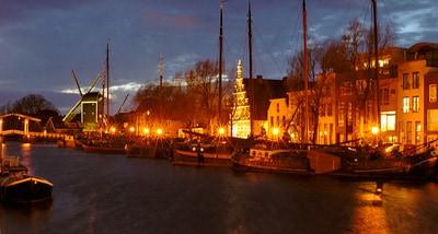 Snertvaart in Leiden