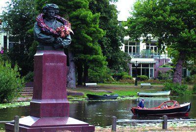 Rembrandtwandeling in Leiden