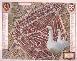 City Goose Game Leiden